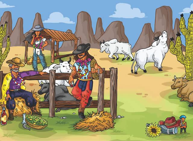 Ensinar às crianças quem são os Guias Espirituais e aproximá-las da cultura afrobrasileira...