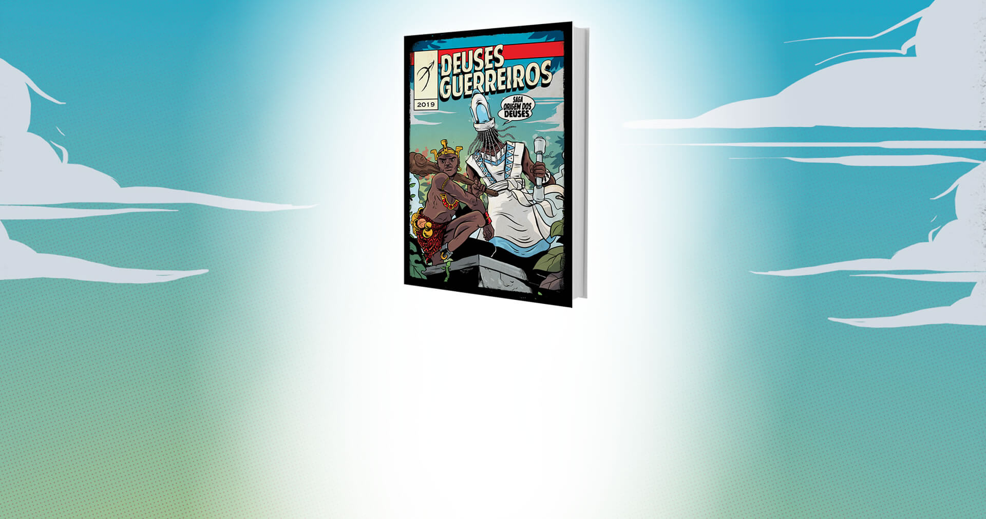 Release | Deuses Guerreiros é a estreia infantojuvenil da editora