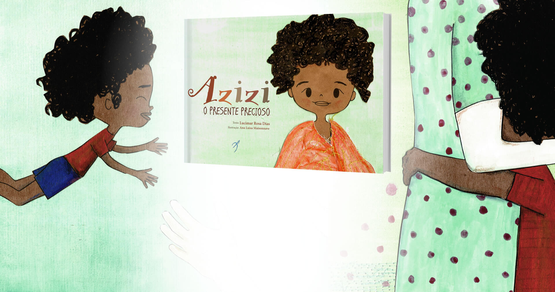 Azizi, the precious gift tells a story of interracial adoption