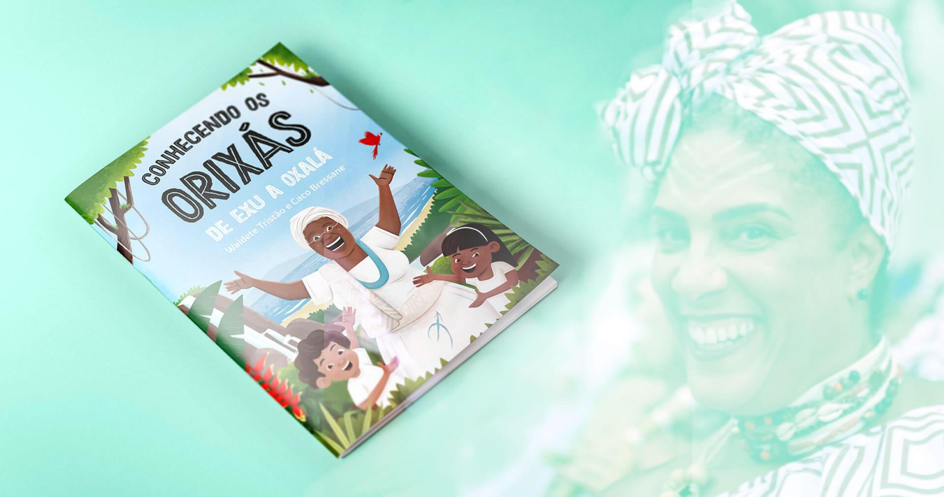 Clipping | Autora traz mitologia africana para dentro das escolas
