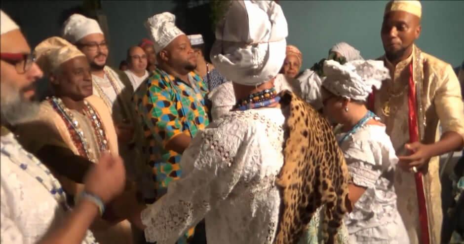 CANDOMBLÉ | Festa de Oxóssi | Entronação do Babalorixá