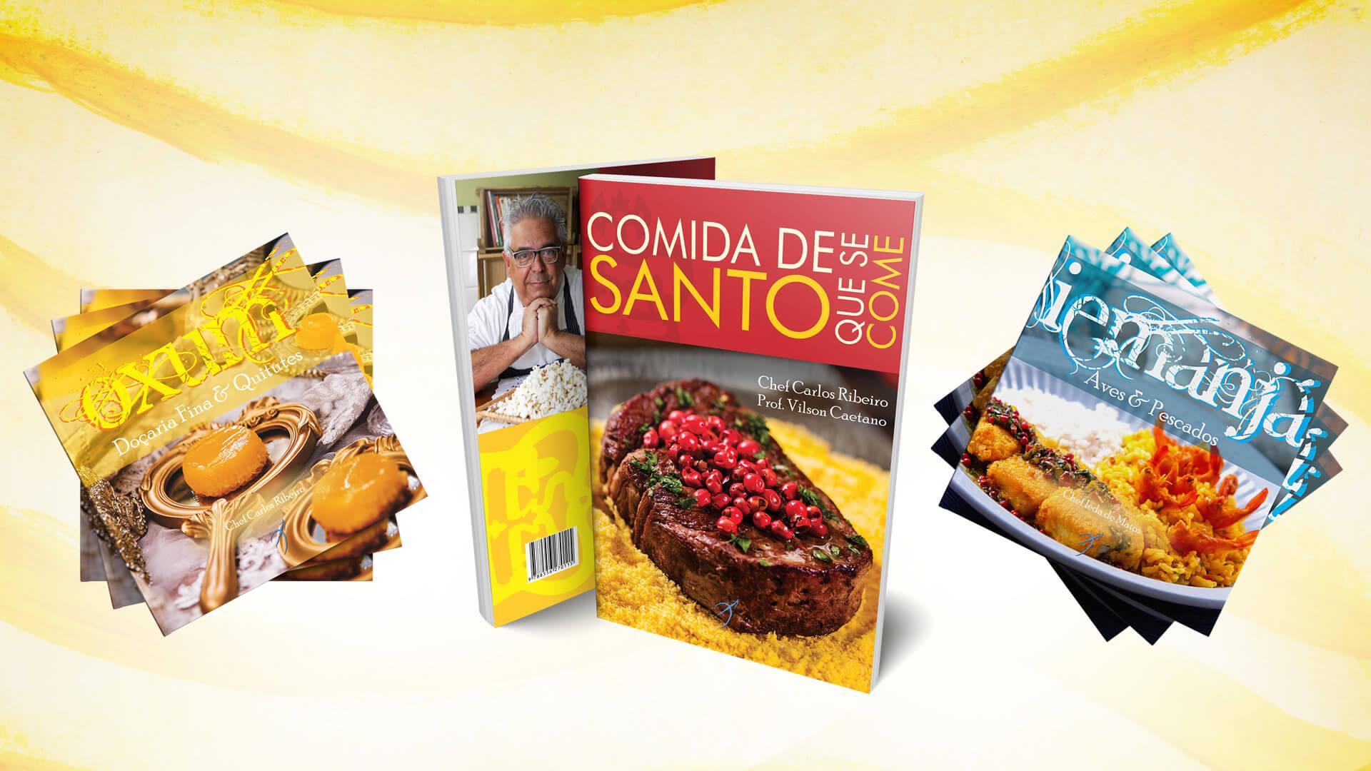 Arole Cultural | Uma seleção de livros com receitas deliciosas, inspiradas nas oferendas e ingredientes sagrados dos Orixás! Acesse e saboreie com a gente!